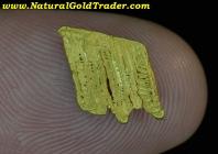 .58 G Nevada Crystallized Gold Specimen