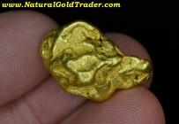 19.88 G. Alaska Tintina Gold Belt Gold Nugget