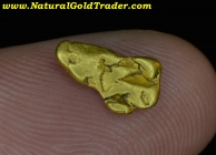 .83 G. Central California Placer Gold Nugget