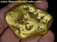 208.80 Gram Massive Alaskan Gold Nugget