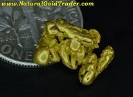 1.85 Gram Baker Oregon Gold Nugget Specimen
