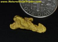 1.28 Gram El Dorado California Gold Nugget