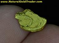 1.20 Gram Yukon Canada Placer Gold Nugget