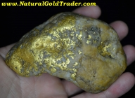 458.0 G. Elk City Idaho Gold & Quartz Specimen