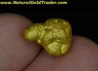 5.54 G. Humboldt Co. Nevada Gold Nugget