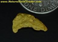 1.06 Gram Little Rockies Montana Gold Nugget