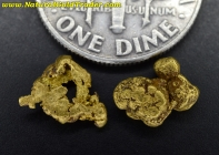 1.07 Grams (2) California Gold Nuggets