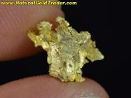 0.88 Gram Idaho Crystalline Gold Nugget