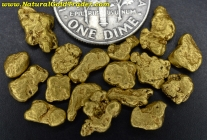 8.16 Grams of Canada Placer Gold Nuggets