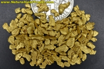 8.58 Grams of Canada Placer Gold Nuggets