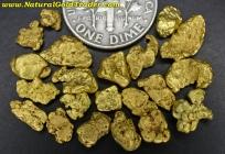 7.66 Grams (21) Alaska Placer Gold Nuggets