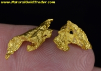 4.50 Grams (2) Australia Gold Nuggets